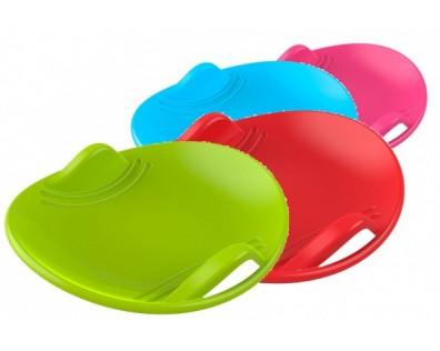 Teddies Sněžný talíř plast průměr 60cm mix barev