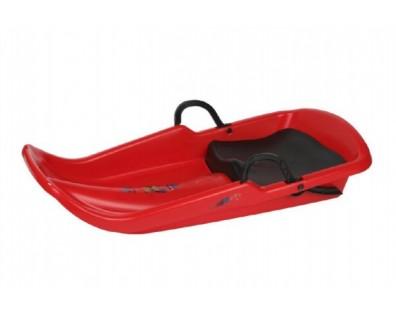 Teddies Boby Cyclone se sedátkem červená 80 x 40 cm