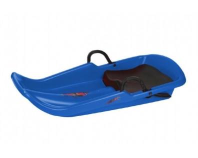Teddies Boby Cyclone se sedátkem modrá 80 x 40 cm