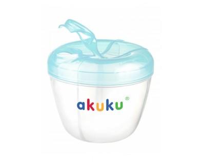 Akuku dávkovač sušeného mléka modré