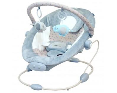 Baby Mix vibrační šedá