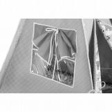 Akuku Teepee luxusní stan šedo-bílá s výbavou