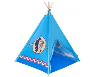 PlayTo indiánský stan modrá
