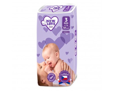 NEW LOVE 3 MIDI 4-9 kg 48 ks