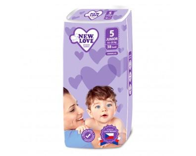 NEW LOVE New Love 5 JUNIOR 11-25 kg 38 ks