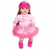 PlayTo česky mluvící a zpívající dětská panenka Nina, Tina 46 cm