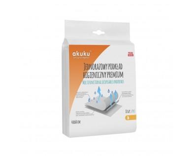 Akuku Jednorázové hygienické podložky PREMIUM 40x60cm 10 ks