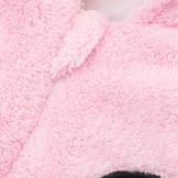 NEW BABY Zimní dětská kombinéza Penguin růžová