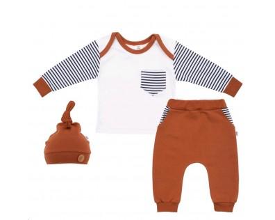 New Baby 3-dílná souprava Little Boy