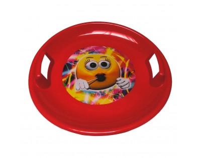 BAYO Sněžný talíř 60 cm červený