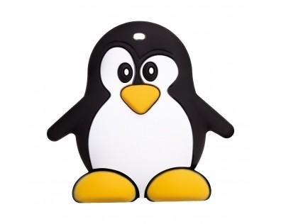 Akuku dětské silikonové kousátko tučňák