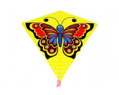 Wiky Drak létající motýl plast 68 x 73cm v sáčku