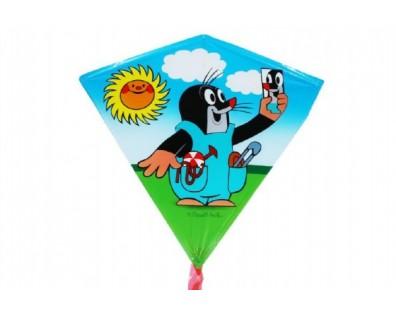 Wiky Drak létající Krtek plast 68 x 73cm asst v sáčku