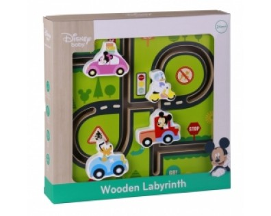 Derrson Disney Dřevěný labyrint Mickeyho svět