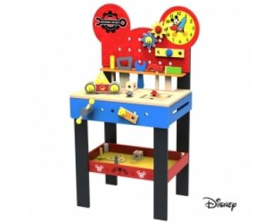 Derrson Disney Mickeyho velký dřevěný ponk pro kutily