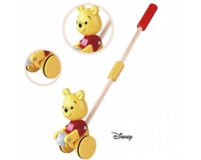 Derrson Disney dřevěný Medvídek Pú na tyči