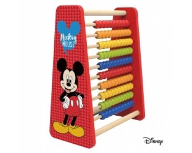 Derrson Disney velké dřevěné počítadlo Mickey