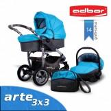 ADBOR kombinovaný kočárek ARTE 3x3