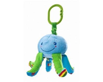 SENSILLO Edukační plyšová hračka chobotnice s vibrací