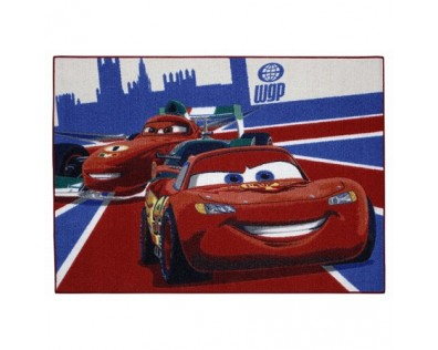 Dětský koberec Cars 26 Mc Queen & Francesco 95x133 cm