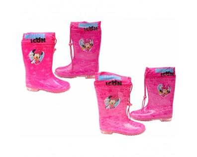 Dětské holínky Minnie - růžová
