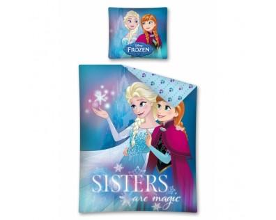 Detexpol bavlna povlečení Ledové království Frozen Sisters are magic 140x200 70x90