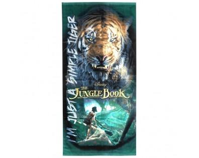 Euroswan Osuška Kniha Džunglí bavlna 70x140 cm